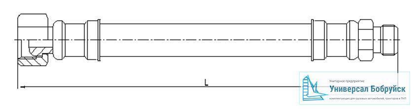 схема пневмошланга КАМАЗ 010-3506062