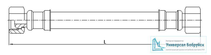 схема пневмошланга КАМАЗ 010-3506442-01
